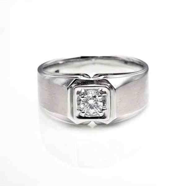 Perhiasan emas berlian white gold 18K diamond DHTXHJZ066