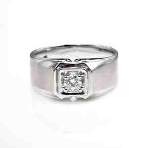 Perhiasan emas berlian white gold 18K diamond DHTXHJZ066