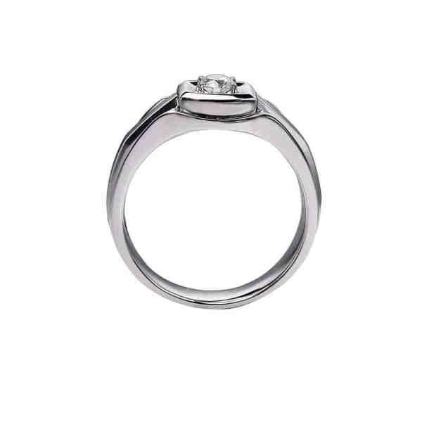 Perhiasan emas berlian white gold 18K diamond DHTXHJZ079