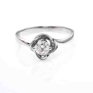 Perhiasan emas berlian white gold 18K diamond DJXJZ061