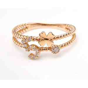 Perhiasan emas berlian white gold 18K diamond DMKMJZ004