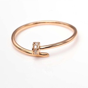 Perhiasan emas berlian white gold 18K diamond DMKMJZ020