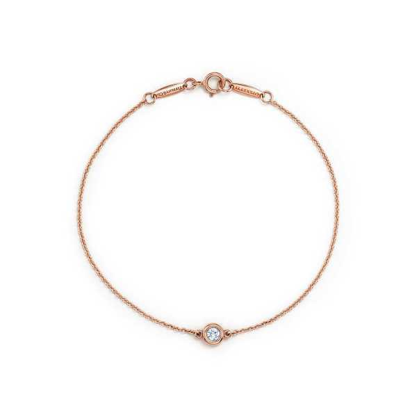 Perhiasan gelang bracelet emas berlian gold 18K diamond