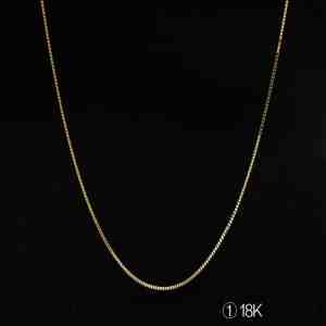 Perhiasan kalung emas white gold Tiaria 18K Gold Necklace Top Design
