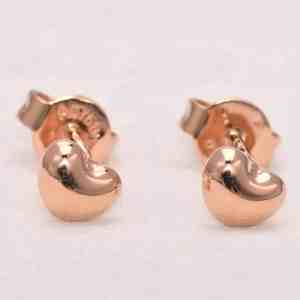 Perhiasan emas gold anting Love D2 Rose Gold Anting Emas 18K
