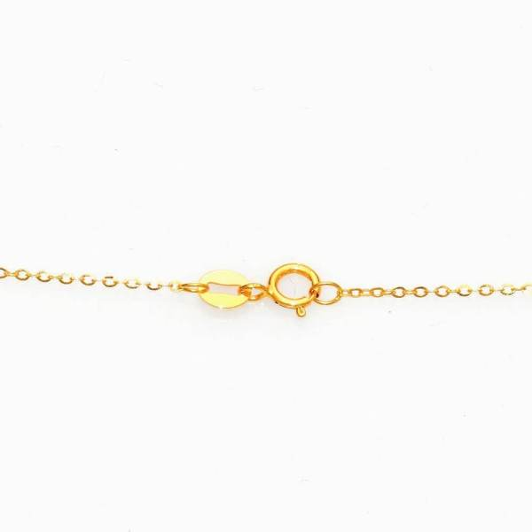 Perhiasan kalung emas gold necklace Pearl on Gold Jewelry Kalung Emas 18K