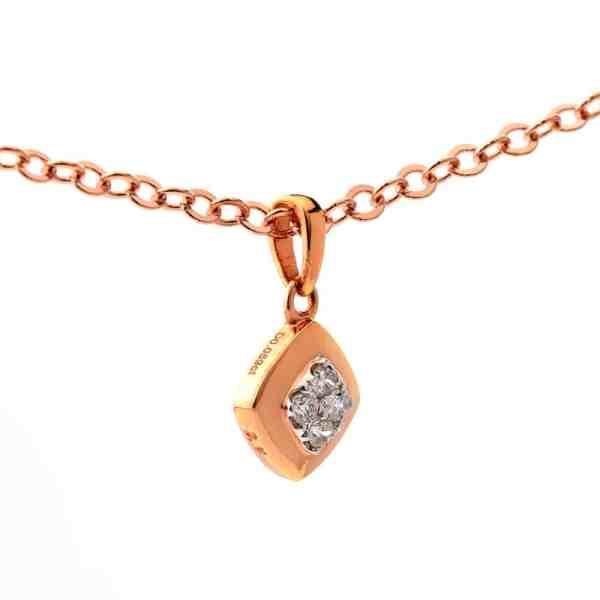 Tiaria 18K Gold Diamond Four Season Pendant