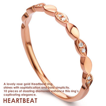 HeartBeat Perhiasan Emas Berlian Tiaria