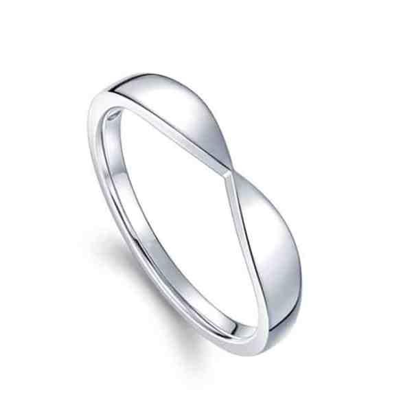 Tiaria 9K Harmonious Line Ring 1