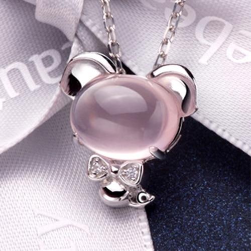 Pink Crystal Pig (3)