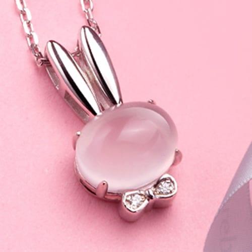 Pink Crystal Rabbit (3)