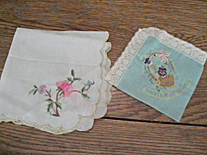 Handkerchiefs Womans Vintage Clothing Womans Antique