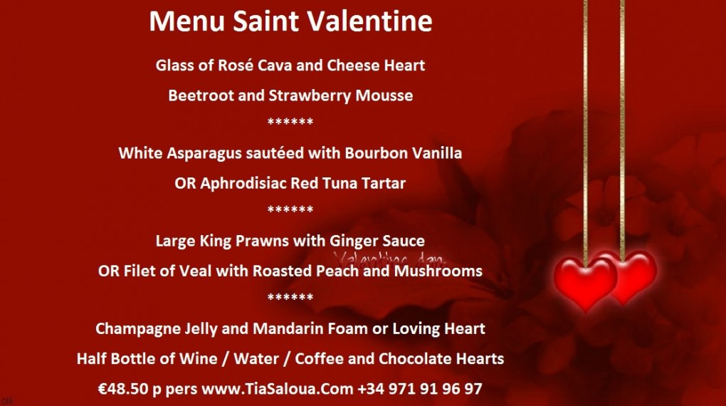Valentines Day 2016 In Mallorca A Ma Maison French