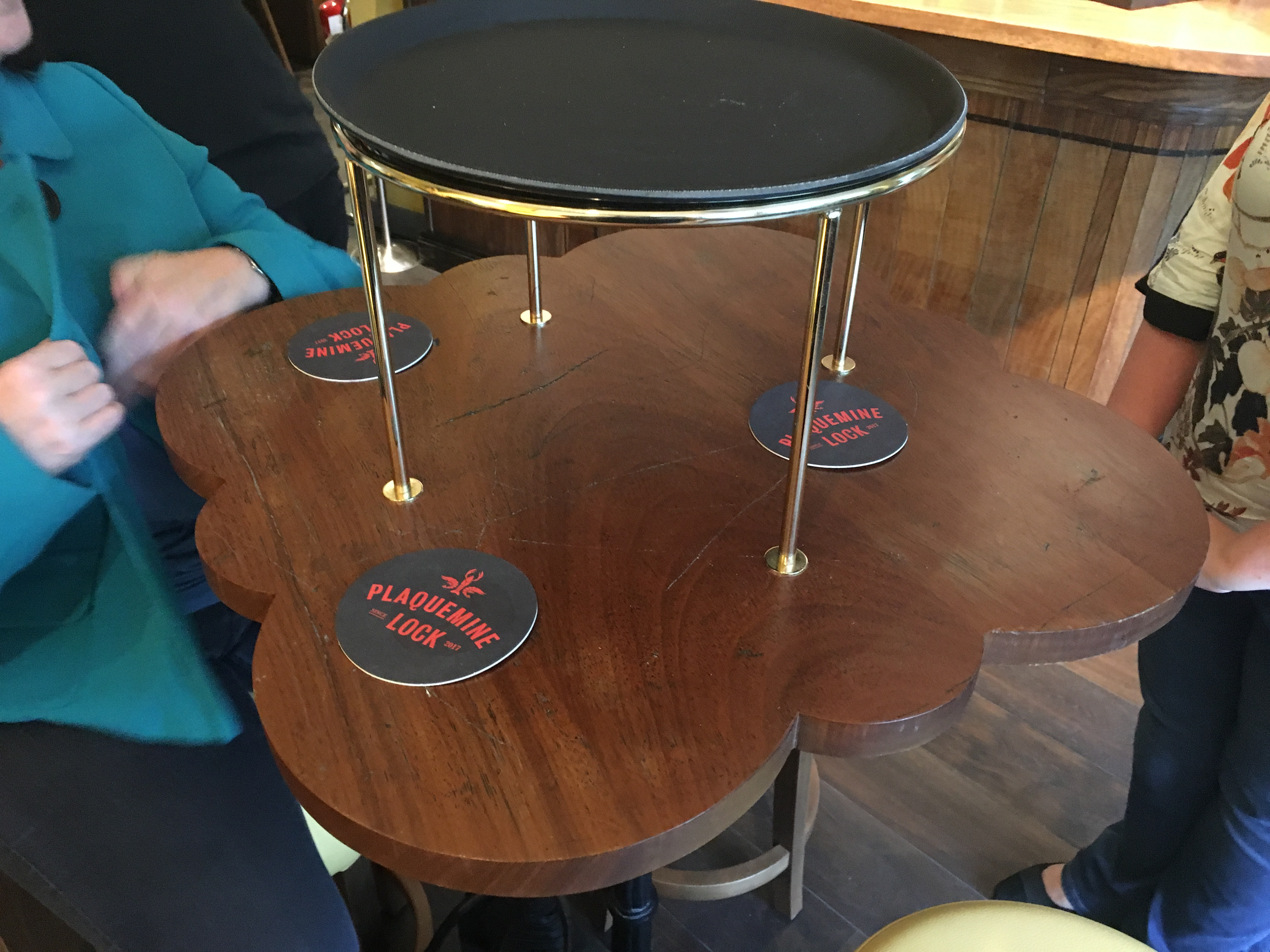 Fine This Is A Very Small Table For 4 People Quick Restaurant Ibusinesslaw Wood Chair Design Ideas Ibusinesslaworg