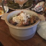 Bowl of Dark Roux Gumbo - Plaquemine Lock Islington