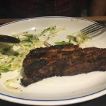 Rare breed spare ribs with green slaw - Foxlow Soho Review