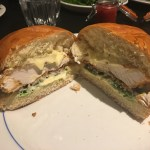 Inside the chicken burger - Foxlow Soho Review