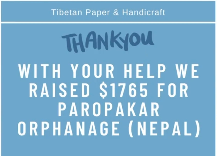 Fundraiser for Orphanage in Nepal