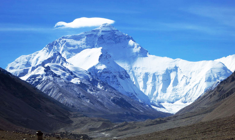 Mount Everest Flag Clouds