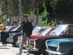 Club Motori d'Altri Tempi, uno dei raduni a Tivoli