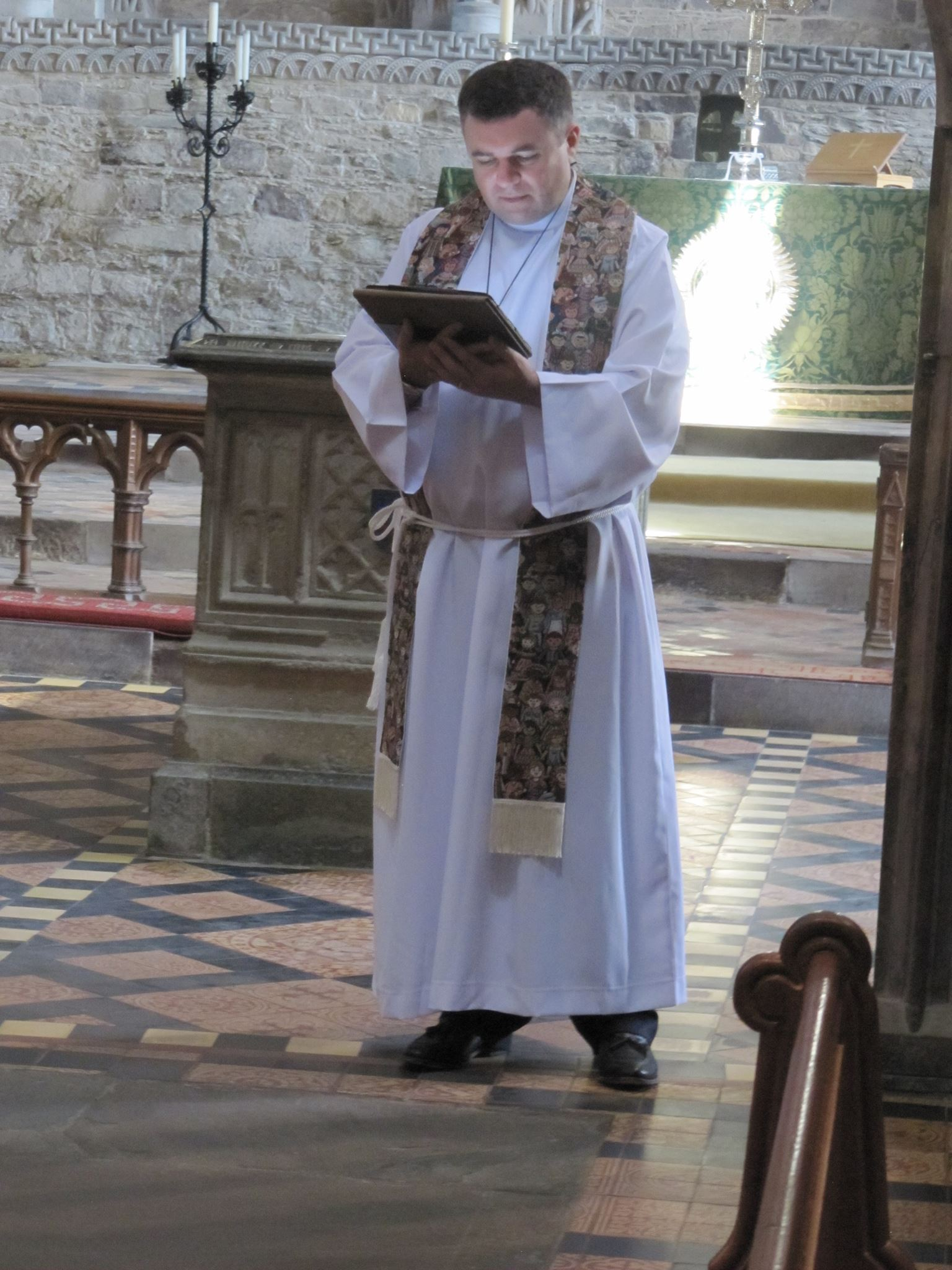 Bishop Steven Lyn Evans St David's Cathedral