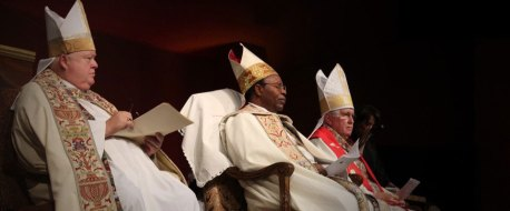 A service of consecration in the USA