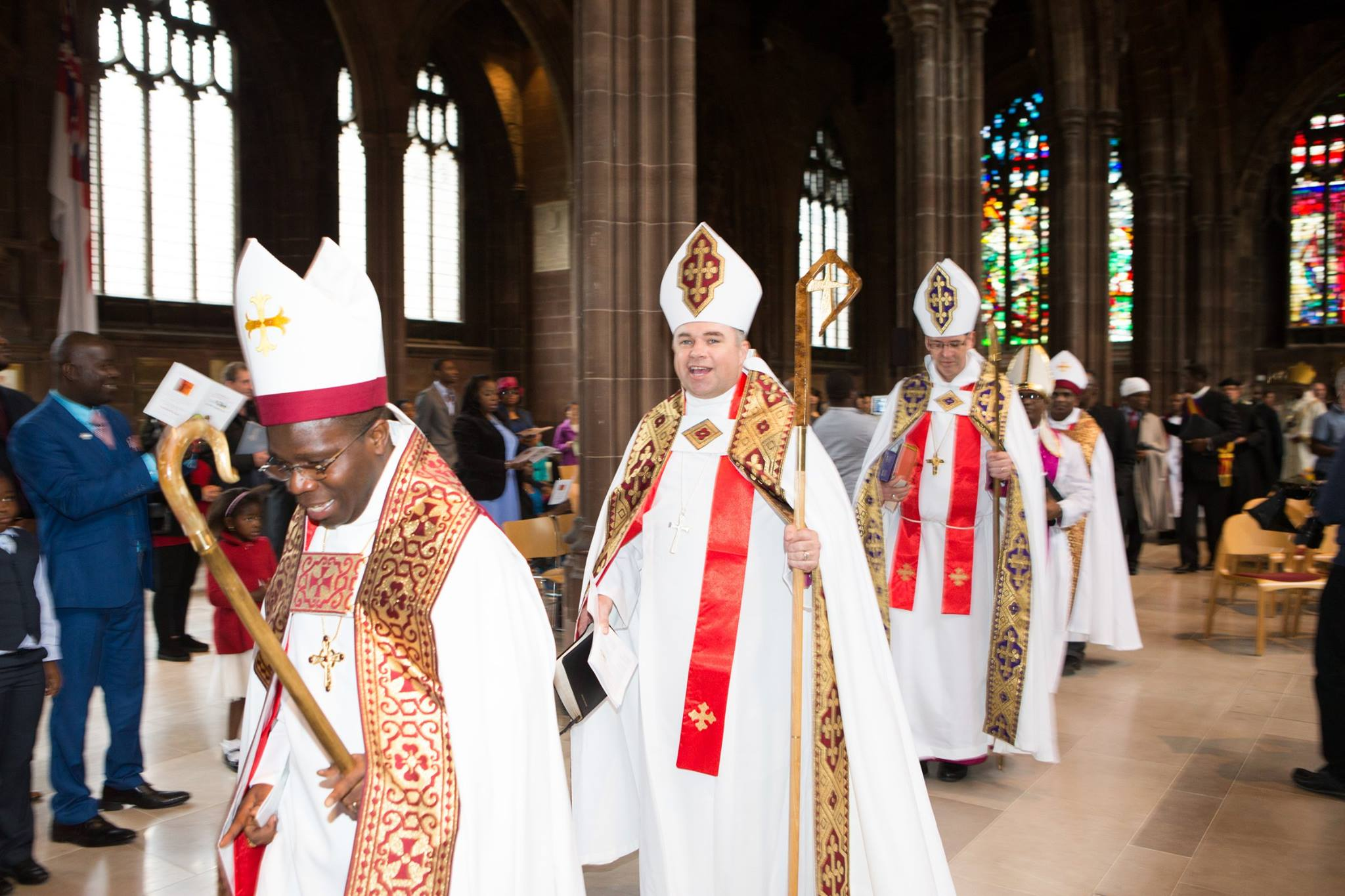 Bishop Evans' Consecration