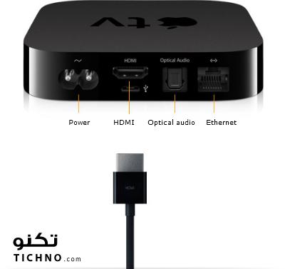 apple tv hdmi caple - كيبل الاتش دي ام اي في الابل تي في