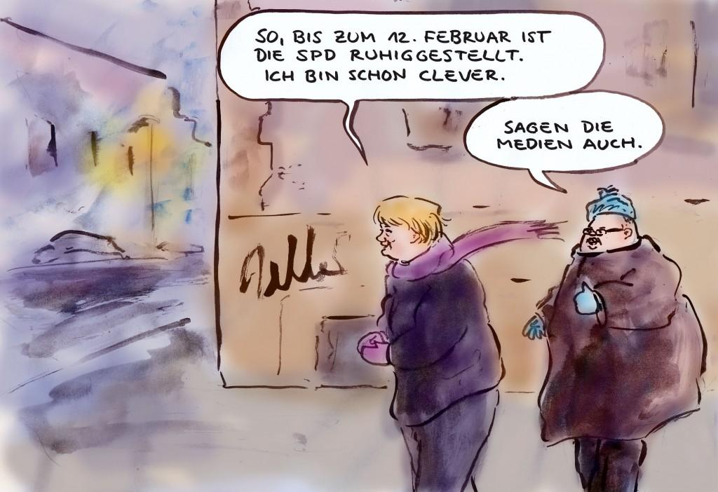 Merkels geschickter Schachzug