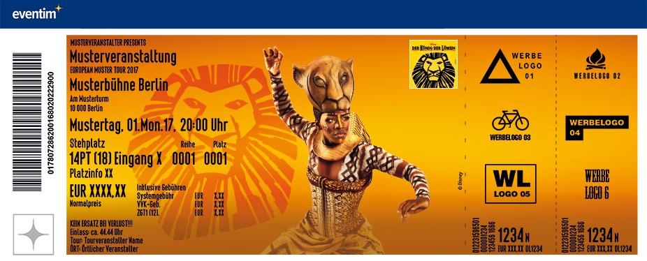 Konig Der Lowen Musical Tickets Karten
