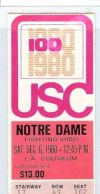 Notre Dame at USC 1980
