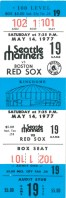 Red Sox at Mariners 1977
