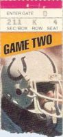 Colts at Steelers 1985