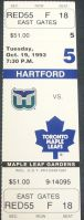 Whalers at Maple Leafs 1993