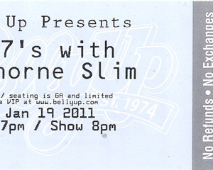 2011 Old 97's ticket stub Belly Up San Diego