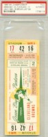 1966 NFL Championship Game ticket stub Browns vs Packers