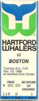 1986 Bruins at Whalers