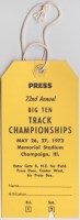 1972 Big 10 Track and Field Championships