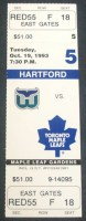 1993 Whalers at Maple Leafs