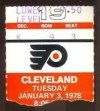 1978 NHL Barons at Flyers