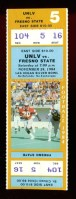 1984 NCAAF Fresno State at UNLV ticket stub