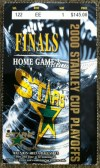 2000 Stanley Cup Final Gm 6 Devils at Stars ticket stub