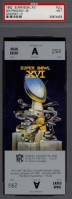 1982 Super Bowl 49ers vs Bengals unused ticket