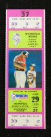 1986 Indianapolis Indians at Buffalo Bisons ticket stub