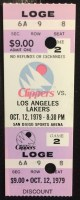 1979 NBA Lakers at Clippers Magic Johnson Debut
