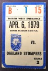1979 NASL Oakland Stompers at Vancouver Whitecaps