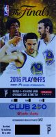 2016 NBA Finals Game 7 Cavaliers at Warriors ticket stub