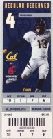 2013 NCAAF Washington State at California ticket stub