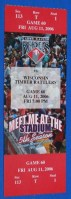 2006 Cedar Rapids Kernels ticket stub vs Wisconsin