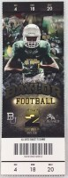 2013 NCAAF Buffalo at Baylor Full Ticket